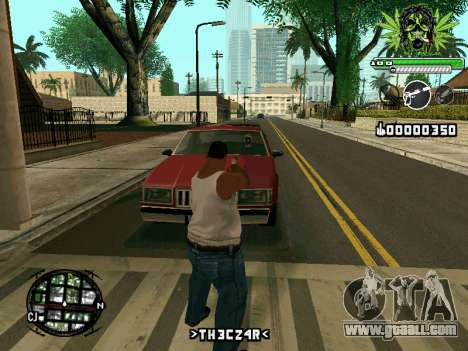 C-HUD Marihaus for GTA San Andreas third screenshot