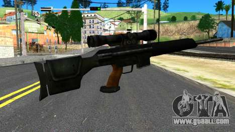 Sniper Rifle from GTA 4 for GTA San Andreas second screenshot