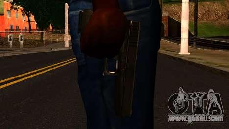 Pistol from GTA 4 for GTA San Andreas third screenshot