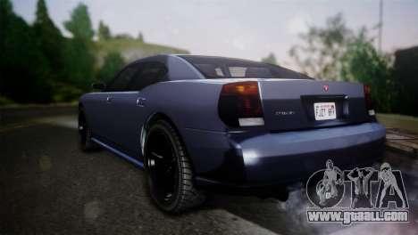 Bravado Buffalo Sedan v1.0 (HQLM) for GTA San Andreas left view