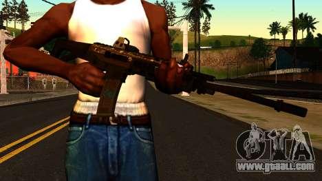ACW-R from Battlefield 4 for GTA San Andreas third screenshot