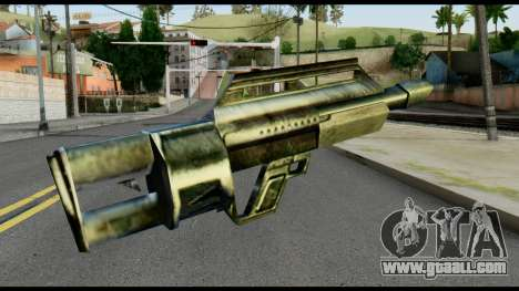 Jackhammer from Max Payne for GTA San Andreas second screenshot
