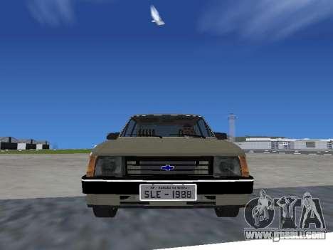 Chevrolet Chevette Hatch for GTA San Andreas back left view
