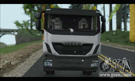 Iveco Trakker 2014 Concrete Snow for GTA San Andreas right view