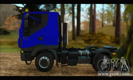 Iveco Trakker 2014 for GTA San Andreas left view
