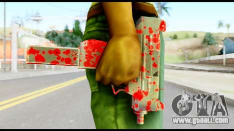 Micro SMG with Blood for GTA San Andreas third screenshot