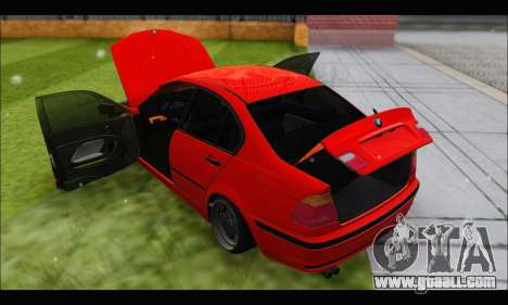 BMW e46 Sedan V2 for GTA San Andreas side view