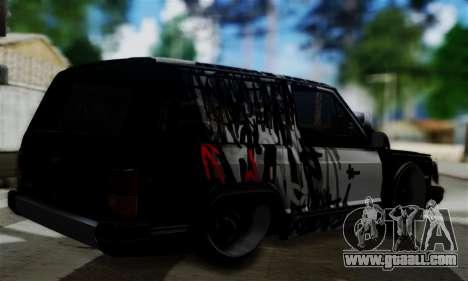 Jeep Mini-Truck for GTA San Andreas left view