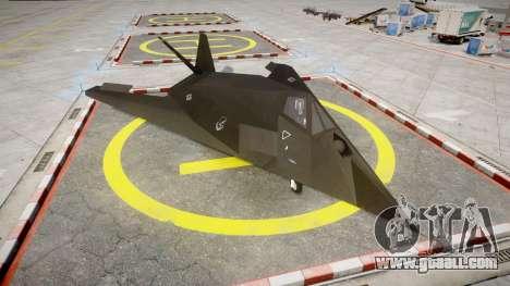 Lockheed F-117 Nighthawk for GTA 4