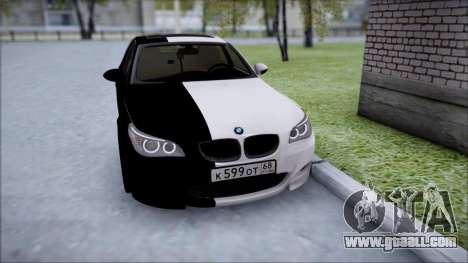 BMW M5 E60 for GTA San Andreas back view