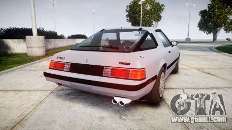 Mazda RX-7 1985 FB3s [EPM] for GTA 4 back left view