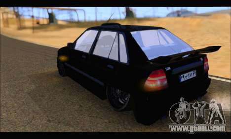 Kia Pride 141 Tuning for GTA San Andreas left view