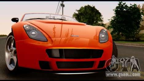 GTA 5 Dewbauchee Rapid GT Cabrio [IVF] for GTA San Andreas right view