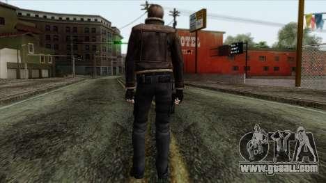 Resident Evil Skin 5 for GTA San Andreas second screenshot