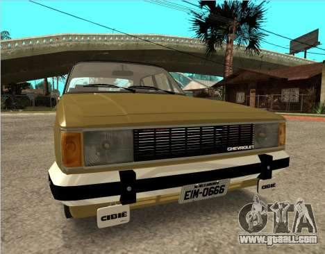 Chevrolet Opala 1980 for GTA San Andreas right view