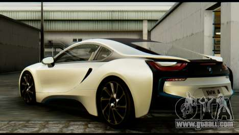 BMW I8 2013 for GTA San Andreas left view