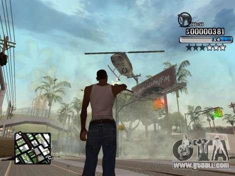 C-HUD New Style for GTA San Andreas third screenshot