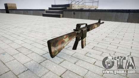 The M16A2 rifle berlin for GTA 4 second screenshot