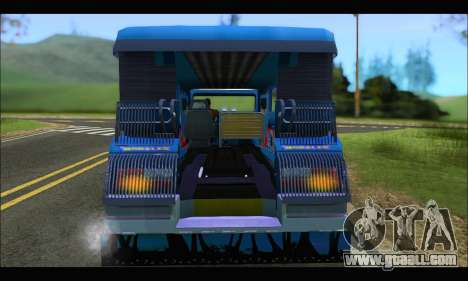Jeepney Morales for GTA San Andreas right view