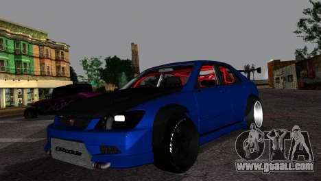 Toyota Altezza DC Hunter for GTA San Andreas
