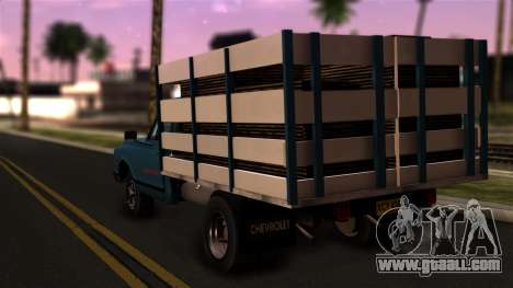 Chevrolet C30 for GTA San Andreas left view