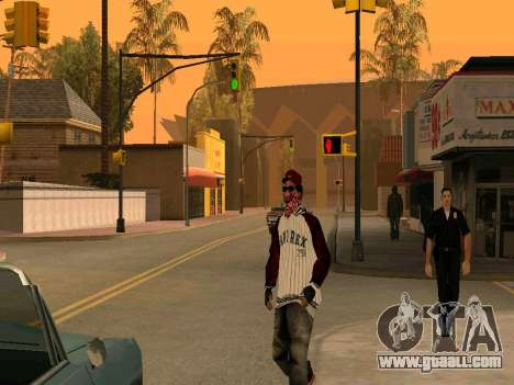 Doggers Gang for GTA San Andreas second screenshot
