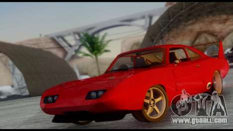 Dodge Charger Daytona for GTA San Andreas