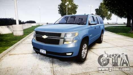Chevrolet Suburban 2015 for GTA 4