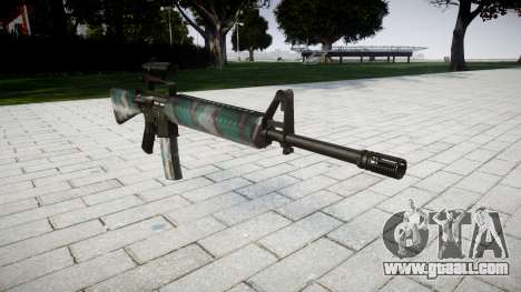 The M16A2 rifle [optical] warsaw for GTA 4