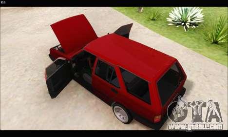 Tofas Kartal (EL 34 5323) for GTA San Andreas back left view