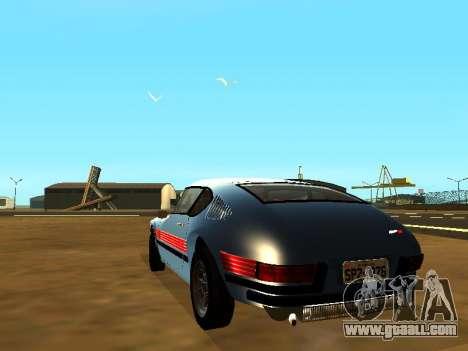 Volkswagen SP2 Original for GTA San Andreas left view
