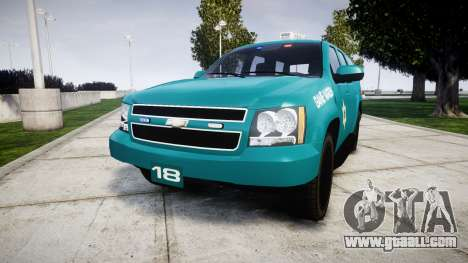 Chevrolet Tahoe 2013 Game Warden [ELS] for GTA 4