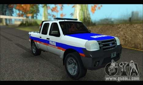 Ford Ranger 2011 Patrulleros CPC for GTA San Andreas