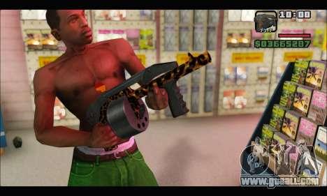 Leopardo Combat for GTA San Andreas forth screenshot