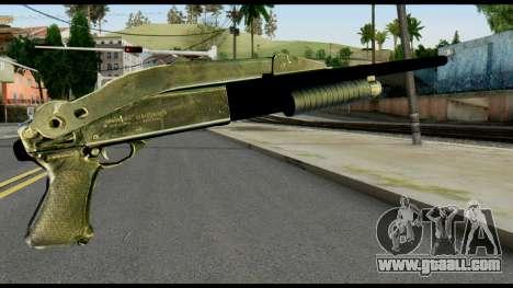 Pump Shotgun from Max Payne for GTA San Andreas second screenshot
