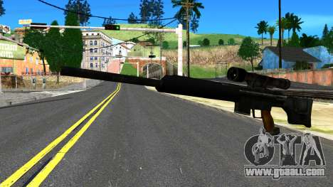 Sniper Rifle from GTA 4 for GTA San Andreas