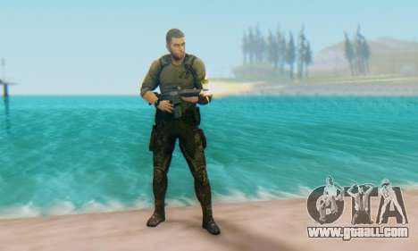 Sam Fisher - Paladin Outfit (Splinter Cell Black for GTA San Andreas second screenshot