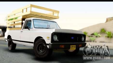 Chevrolet C10 1972 for GTA San Andreas