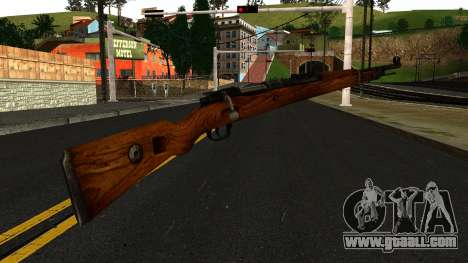 Mauser 98K from Wolfenstein 2009 for GTA San Andreas second screenshot
