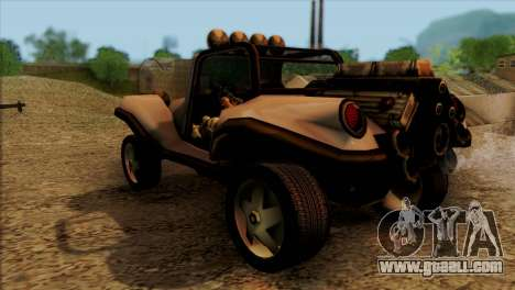 New BF Injection for GTA San Andreas back left view