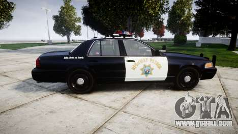 Ford Crown Victoria Highway Patrol [ELS] Vision for GTA 4 left view