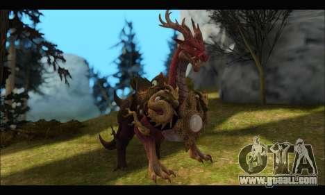 Kirin Dragon (TERA Online) for GTA San Andreas