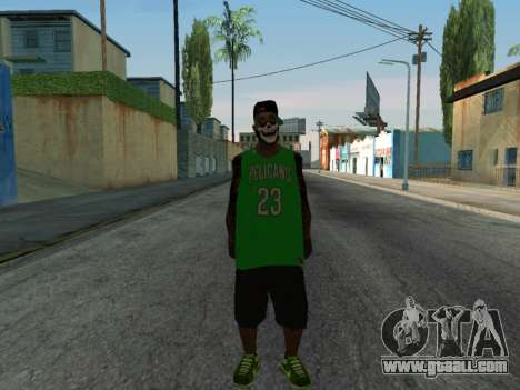 Fam3 Skin for GTA San Andreas