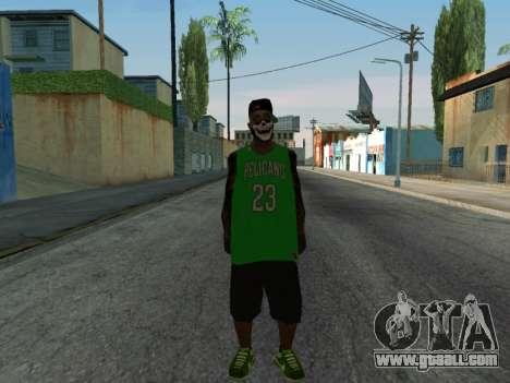 Fam3 Skin for GTA San Andreas