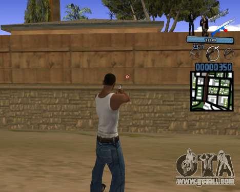 C-HUD Russian Mafia for GTA San Andreas second screenshot
