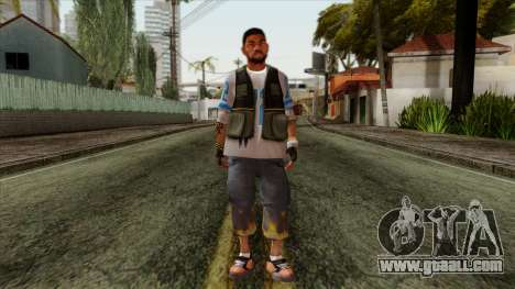 GTA 4 Skin 21 for GTA San Andreas
