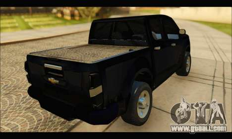 Chevrolet S10 LS 2013 for GTA San Andreas left view