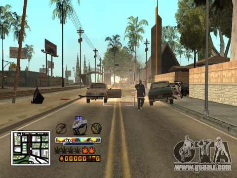 C-HUD Color (improved) for GTA San Andreas