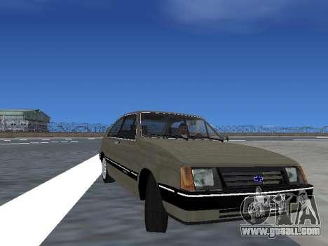 Chevrolet Chevette Hatch for GTA San Andreas wheels