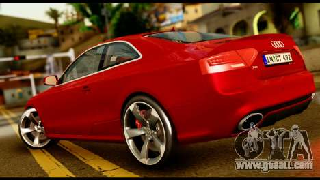 Audi RS5 2013 for GTA San Andreas left view